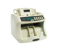 Machine for counting money Royalty Free Stock Images