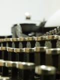 Machine à écrire Photographie stock libre de droits