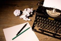 Machine à écrire de vintage Images libres de droits