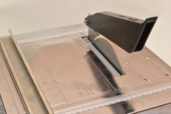 Machine for cutting tiles. Stock Image