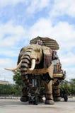 Machine d'éléphant photos libres de droits