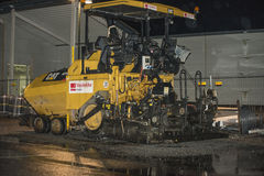 Machine d'asphalte Images stock