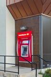 Machine d'atmosphère de la Banque d'Amérique Photos stock