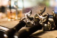 Machine d'Expresso Photos stock