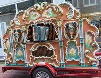 Machine d'organe de musique de rue images stock