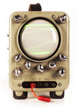 Machine d'oscilloscope Photo libre de droits