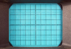 Machine d'oscilloscope Photos stock