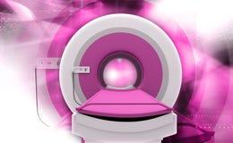 Machine de balayage de CT Images stock