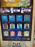 Machine de billet de loterie photos stock