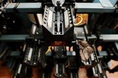 Machine de bowling de Dix bornes non montée Images libres de droits