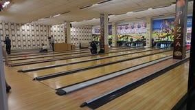 Machine de bowling, grève de bowling clips vidéos
