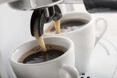Machine de café Photo stock