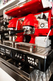 Machine de café Photographie stock
