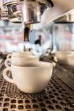 Machine de café effectuant le café express images libres de droits