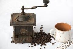 Machine de café de vintage Image libre de droits