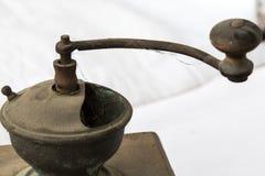 Machine de café de vintage Photo libre de droits