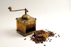 Machine de café d'antiquité Photographie stock libre de droits
