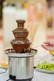 MACHINE DE CHOCOLAT Photos stock