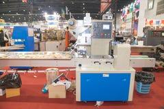 Machine de conditionnement Photographie stock