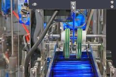 Machine de conditionnement Images libres de droits