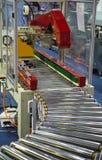Machine de conditionnement de carton photographie stock libre de droits