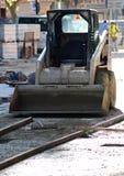 Machine de construction image libre de droits
