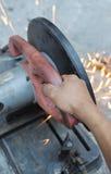 Machine de découpage Photo libre de droits
