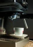 Machine de fabricant de café Photographie stock libre de droits