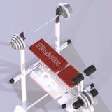 Machine de forme physique illustration stock