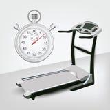 Machine de forme physique avec le rupteur d'allumage Photos libres de droits