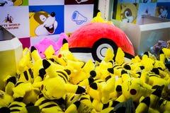 Machine de griffe de Pokemon en Lotte World Adventure photo libre de droits