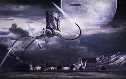 Machine de guerre de l'espace Photo libre de droits