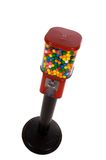 Machine de gumball de cru Image libre de droits