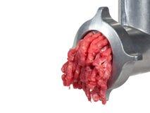 Machine de hache-viande photo libre de droits