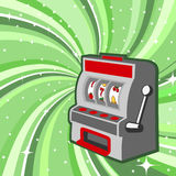 Machine de jeu Images stock