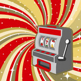 Machine de jeu Image stock
