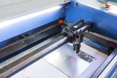 Machine de laser image libre de droits