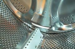 Machine de lavage à l'intérieur Images stock