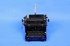 Machine de machine à écrire de cru image libre de droits