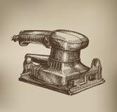 Machine de meulage. Format de vecteur Images stock
