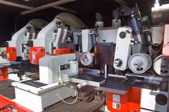 Machine de moulage en bois Photographie stock libre de droits