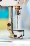 Machine de pointeau de couture Photo libre de droits
