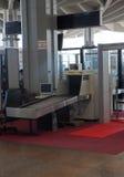 Machine de sécurité dans les aéroports Photo stock