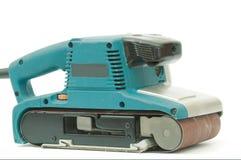 Machine de sablage électrique photographie stock libre de droits