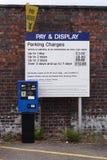 Machine de salaire et d'affichage photographie stock libre de droits