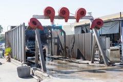 Machine de station de lavage aux Etats-Unis Photo libre de droits