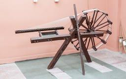 Machine de tissage en soie Turquie Images stock