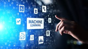Free Machine Deep Learning Algorithms, Artificial Intelligence AI , Automation And Modern Technology In Business As Concept. Royalty Free Stock Image - 134359416