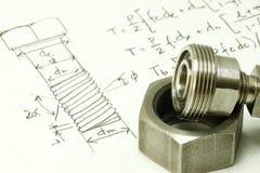 Machine design royalty free stock image