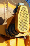 Machine detail sand extraction Stock Photo